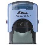 S-841 New Printer Line MODRÁ (26x10mm)