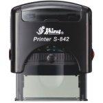 S-842 New Printer Line ČERNÁ (38x14mm)