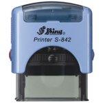 S-842 New Printer Line MODRÁ (38x14mm)