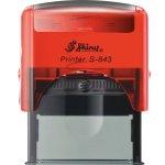 S-843 New Printer Line ČERVENÁ TRANSP. (47x18mm)