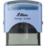 S-844 New Printer Line MODRÁ (58x22mm) černý polštářek