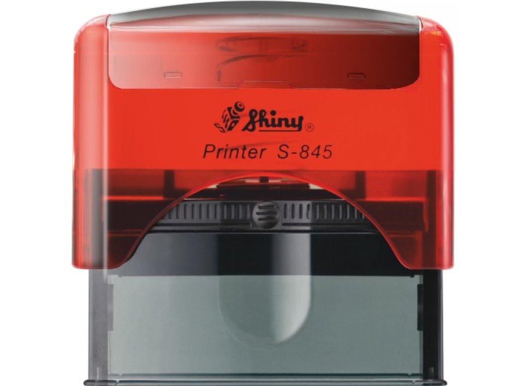 S-845 New Printer Line ČERVENÁ TRANSP. (70x25mm)