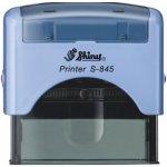 S-845 New Printer Line MODRÁ (70x25mm) černý polštářek