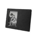 LazzSlate / Fotorámeček z břidlice – obdélník (25x19cm)