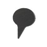 LazzSlate / Jmenovka z břidlice (6x6.5cm)